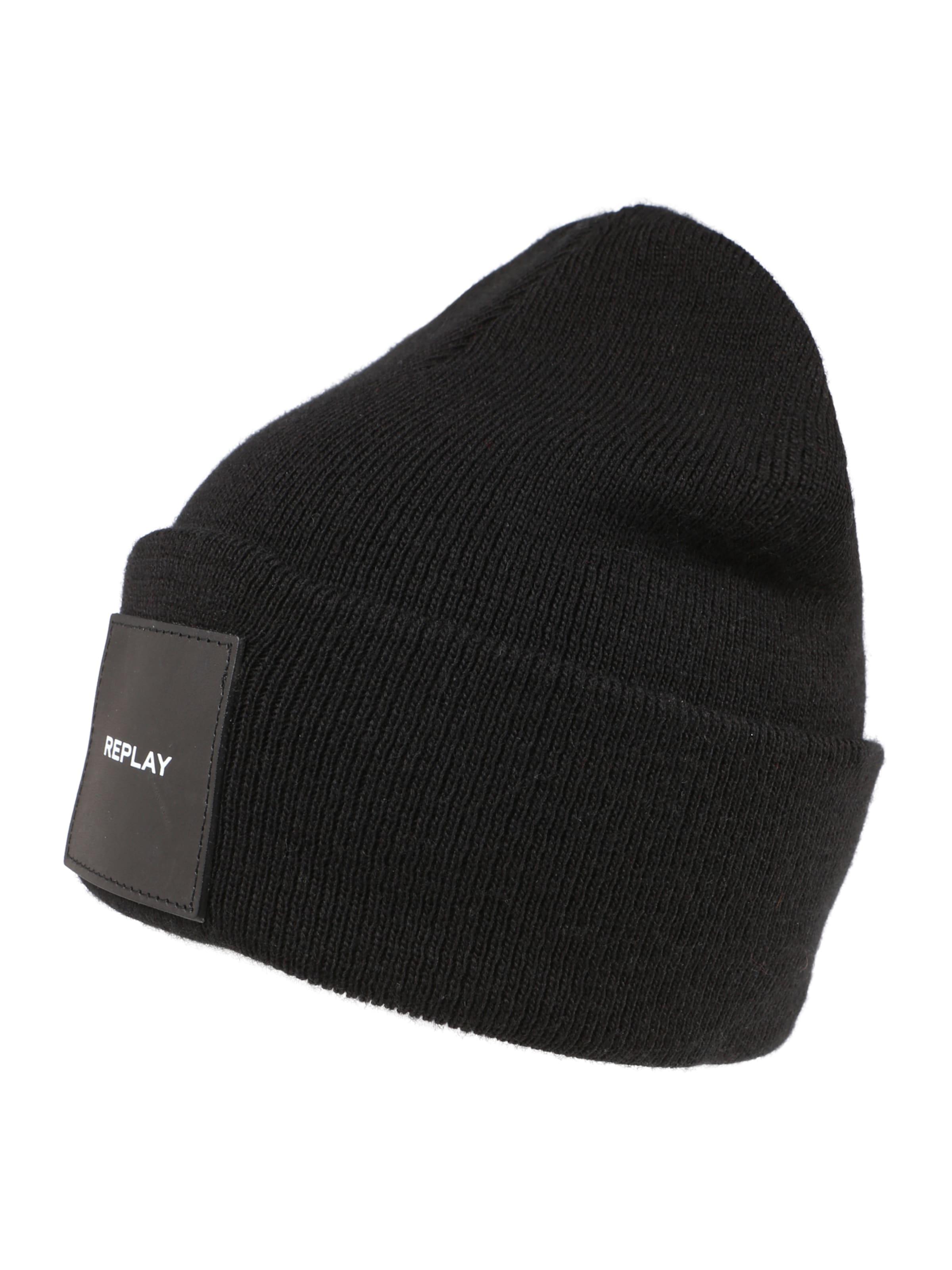 Bonnet En Noir Replay Noir Bonnet Replay Replay En En Bonnet Ygfy7b6