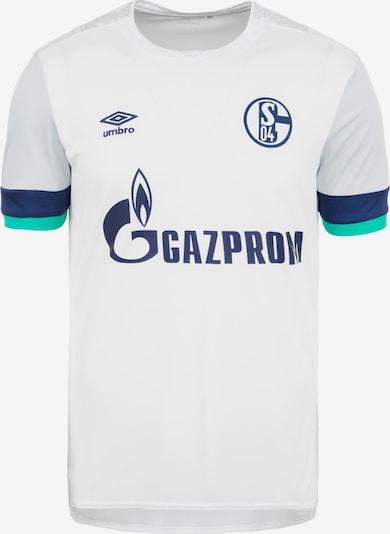 UMBRO Trikot 'FC Schalke 04 Away 2019/2020' in dunkelblau / weiß, Produktansicht