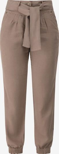 Recover Pants Tencel-Jogpants in hellbraun: Frontalansicht