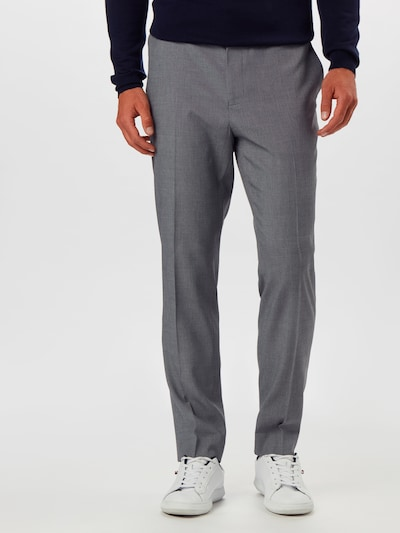 BURTON MENSWEAR LONDON Hose 'GREY MICRO TEXTURE SLIM' in grau, Modelansicht