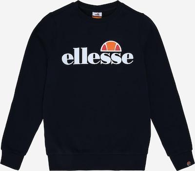 ELLESSE Sweatshirt 'Suprios' in navy / weiß, Produktansicht
