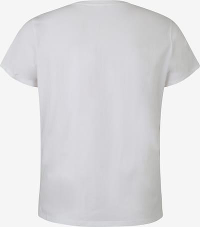 Levi's® Plus T-Krekls 'PL Perfect Crew' pieejami balts: Aizmugures skats