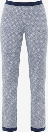 Pantaloni de pijama 'Moroccan Nights' PALMERS pe albastru închis / alb, Vizualizare produs