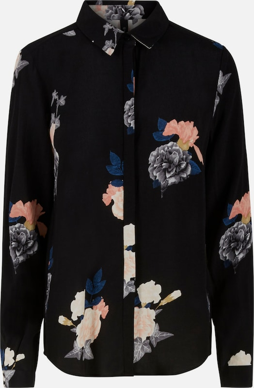 Yas Blouse With Floral-print
