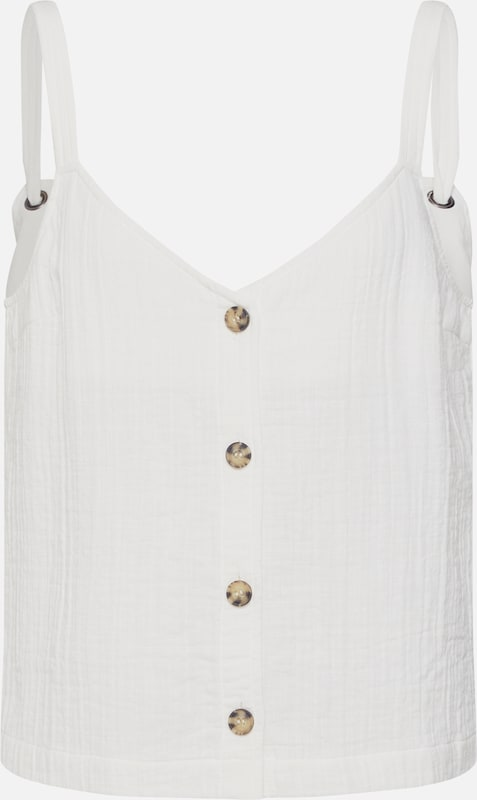 Top' Haut En Review Blanc 'fluffy WD9YEH2I