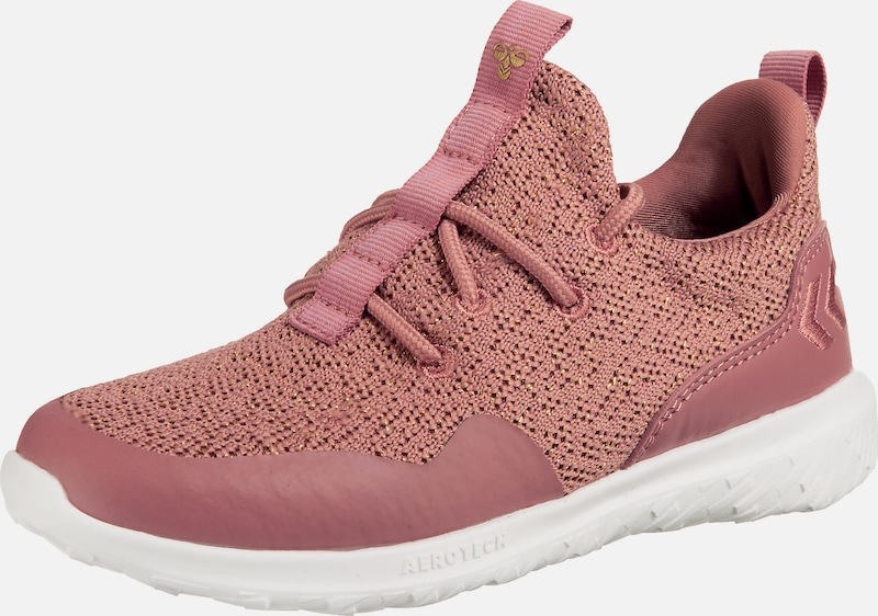 Hummel Sneakers Low 'Actus Trainer Glitter JR' in rosa, Produktansicht