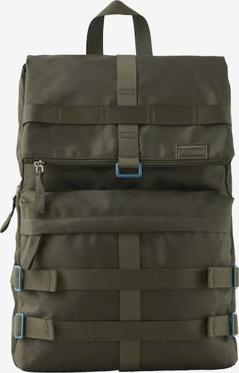 TOM TAILOR DENIM Rucksack in grün, Produktansicht