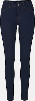 VERO MODA Jeans 'SEVEN' in Donkerblauw
