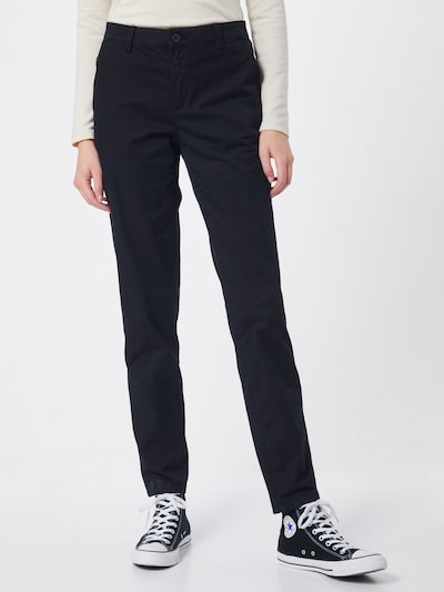ESPRIT Chinohose in schwarz, Modelansicht