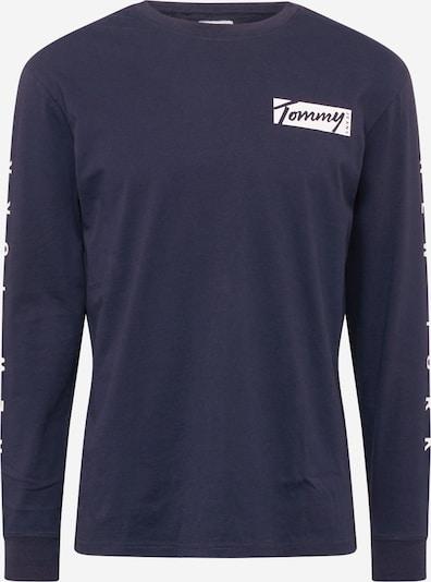 Tommy Jeans Shirt in de kleur Navy / Wit, Productweergave