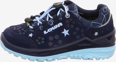 LOWA Sportschuhe in nachtblau / hellblau, Produktansicht