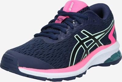 Sportiniai batai 'GT-1000 9 GS' iš ASICS , spalva - mėlyna / žalia / rožinė, Prekių apžvalga