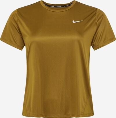 NIKE T-shirt fonctionnel 'Miler' en olive, Vue avec produit
