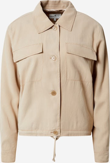 TOM TAILOR Jacke in beige, Produktansicht