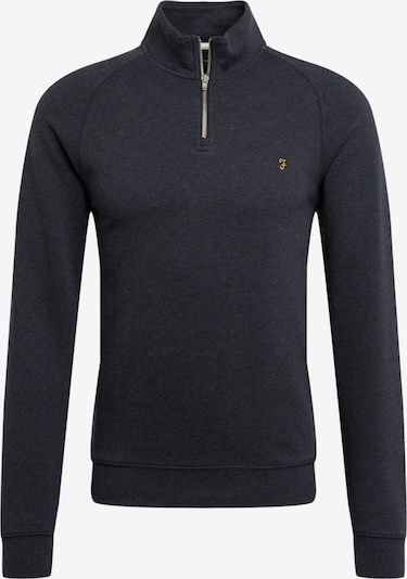 FARAH Sweatshirt 'JIM 1/4 ZIP' in de kleur Navy, Productweergave