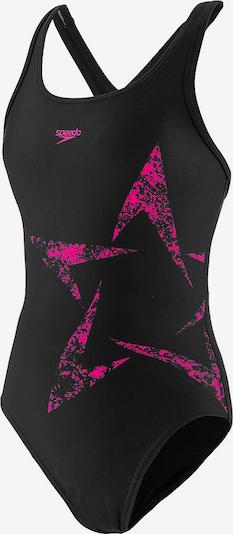 SPEEDO Badeanzug in neonpink / schwarz, Produktansicht
