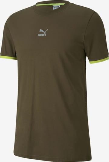 PUMA Functioneel shirt in de kleur Kaki, Productweergave
