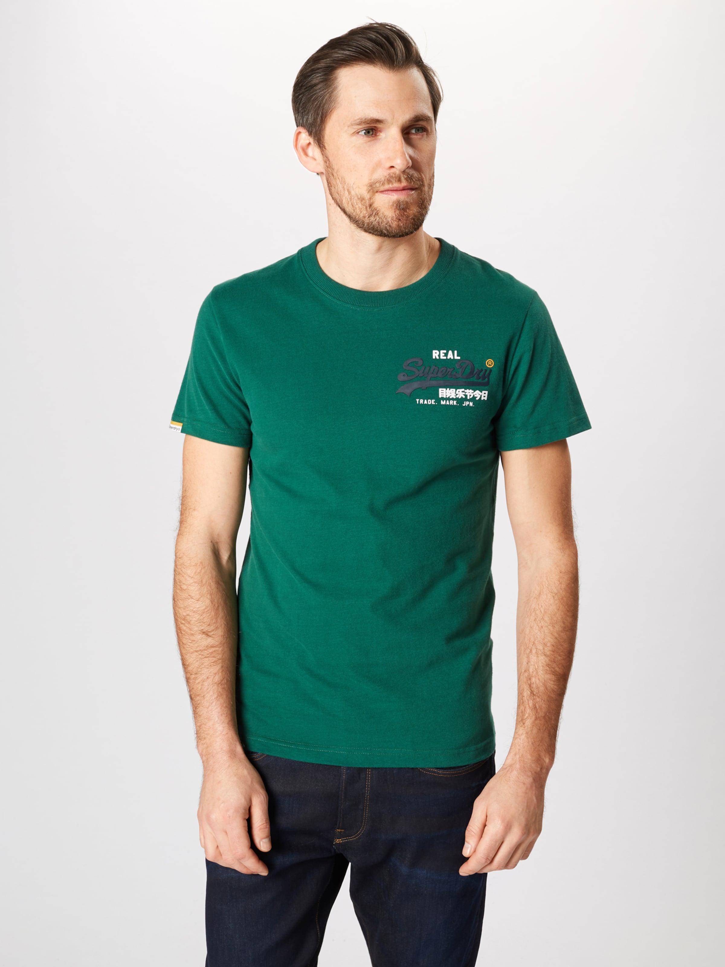 Logo 'vintage Shirt Racer' Superdry Aqua In 0wOkP8n