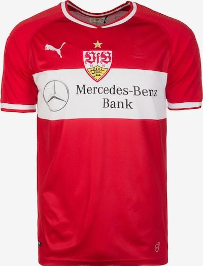 PUMA Fußballtrikot 'VfB Stuttgart 18/19 Auswärts' in rot / weiß, Produktansicht