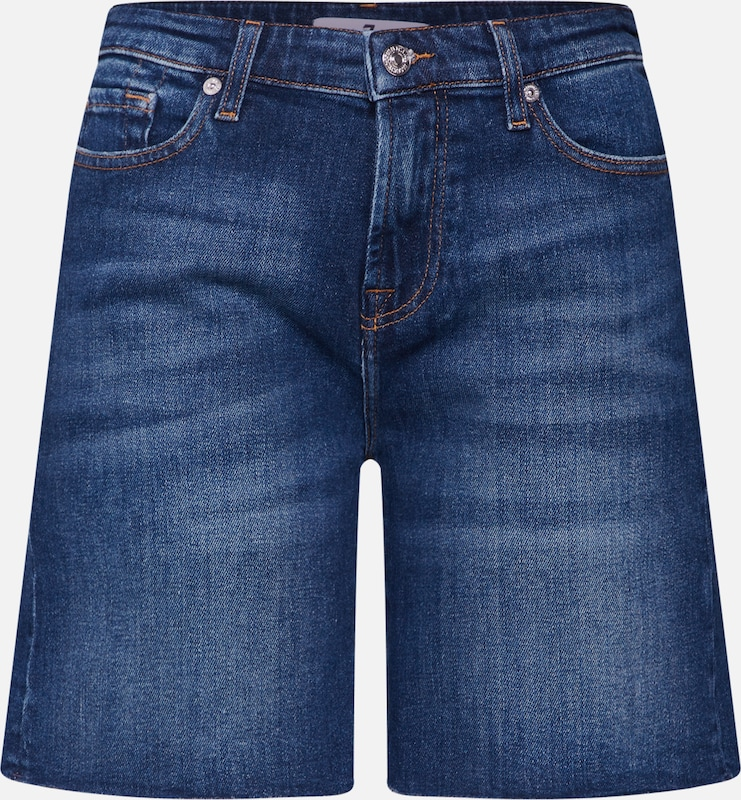 7 for all mankind Jeans 'BOY' in blue denim, Produktansicht