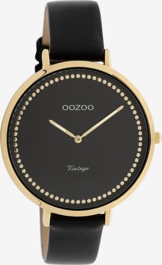 OOZOO Quarzuhr 'C9854' in gold / schwarz, Produktansicht
