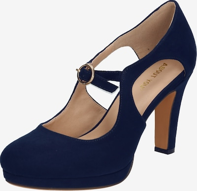 ABOUT YOU Pumps 'Ilaria' in navy, Produktansicht