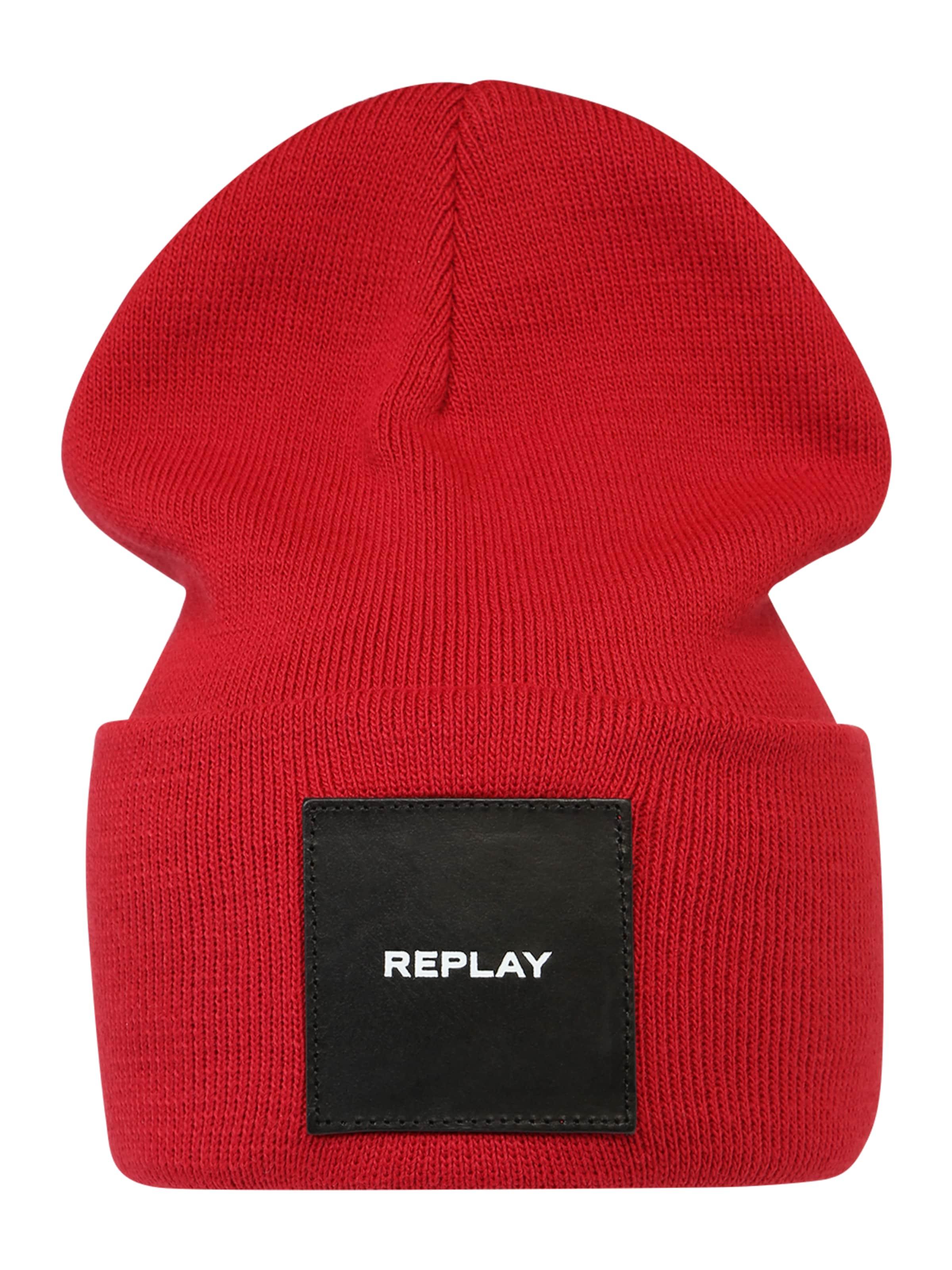 Mütze In Rot In Replay Replay Mütze hQCBsdtxro