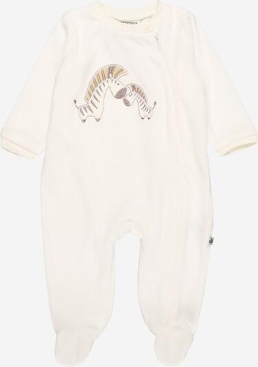 Pijamale JACKY pe offwhite, Vizualizare produs