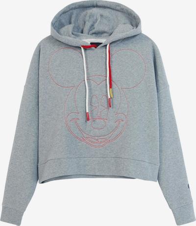 Desigual Sweatshirt 'Mickey' in de kleur Grijs / Rood, Productweergave