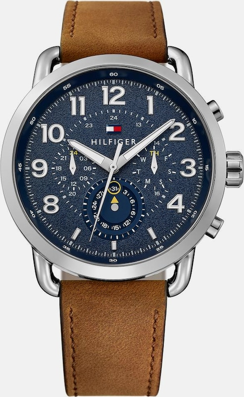 TOMMY HILFIGER Multifunktionsuhr 'Casual Sport, 1791424'