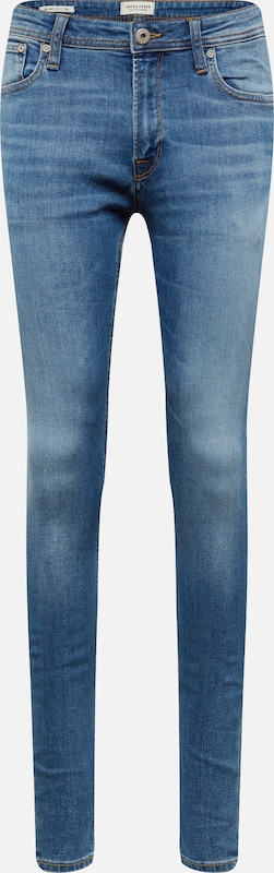 JACK & JONES Jeans 'JJITOM JJORIGINAL AM 815 NOOS' in de kleur Blauw denim, Productweergave