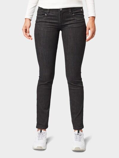 TOM TAILOR Jeans in black denim, Modelansicht