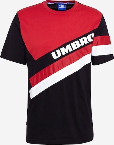 UMBRO Majica u lubenica roza / crna / bijela, Pregled proizvoda