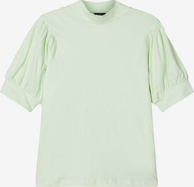 NAME IT Ballonärmel T-Shirt in mint, Produktansicht