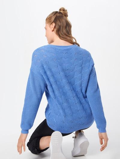 Megztinis 'Chloa' iš VILA , spalva - šviesiai mėlyna: Vaizdas iš galinės pusės