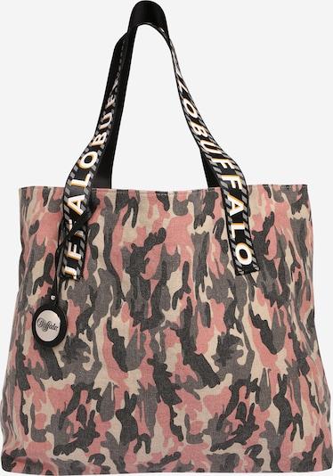 BUFFALO Tasche 'KIRA' in beige / dunkelgrau / rosa, Produktansicht