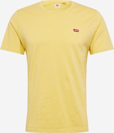 LEVI'S T-Shirt 'ORIGINAL HM TEE' in zitrone, Produktansicht