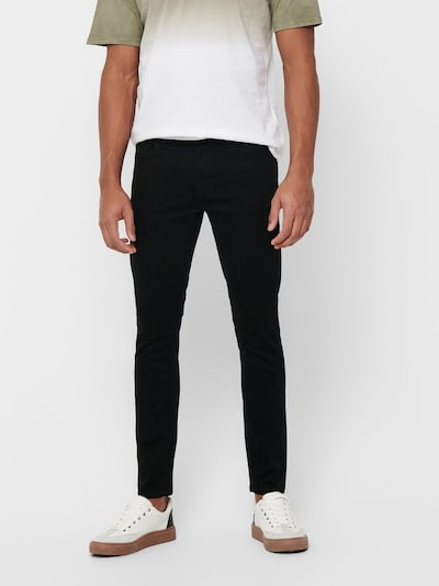 Only & Sons Jeans in schwarz, Modelansicht