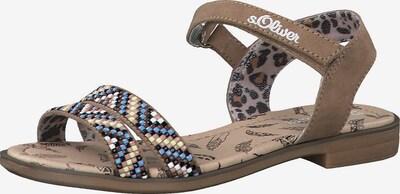 s.Oliver Junior Sandalen in braun, Produktansicht