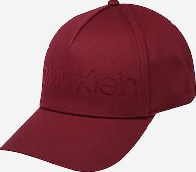 Calvin Klein Casquette en violet, Vue avec produit