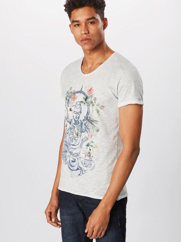 shirt neck' Bleu Buddha V Key 'mt En RoiGris T Largo Clair jL5AR34q