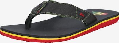QUIKSILVER Sandalen 'MOLOKAI ABYSS M SNDL XGKG' in de kleur Geel / Groen / Rood / Zwart, Productweergave