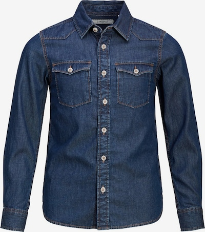 Produkt Hemd in blue denim, Produktansicht
