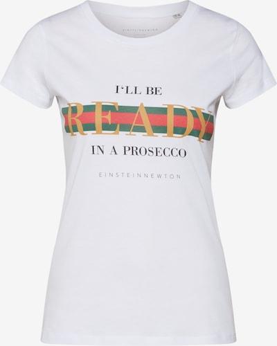 EINSTEIN & NEWTON Koszulka 'I'll be ready in a Prosecco' w kolorze białym, Podgląd produktu