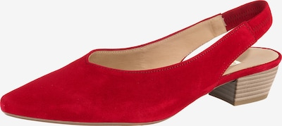GABOR Pumps in rot, Produktansicht