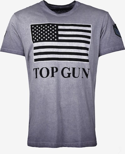TOP GUN T-Shirt 'Search' in marine / schwarz, Produktansicht
