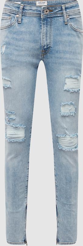 JACK & JONES Jeans 'LIAM ORIGINAL' in Blau denim  Neue Kleidung in dieser Saison