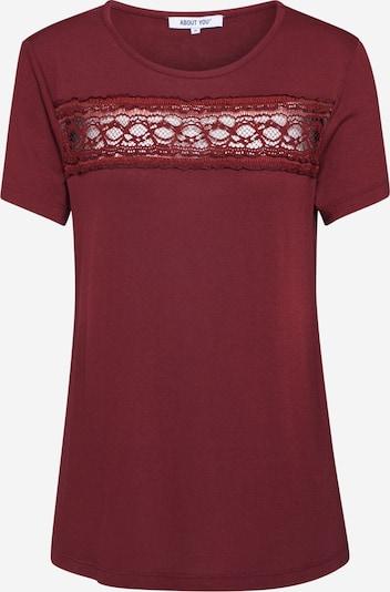 ABOUT YOU Shirt 'Agnes' in bordeaux, Produktansicht