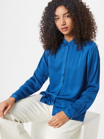 Fabienne Chapot Bluse 'Sunrise Solid Blouse' in blau, Modelansicht