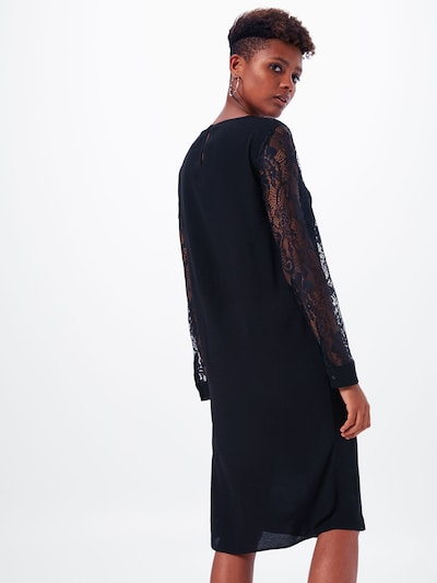 OBJECT Robe 'ZOEY' en noir: Vue de dos